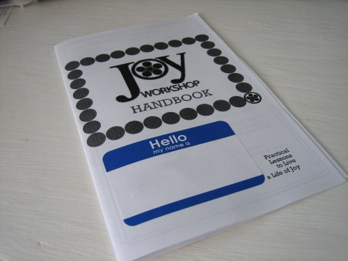 Joy Workshop Handbook
